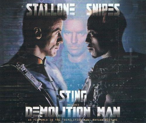 STING Demolition Man CD Single A&M 1993